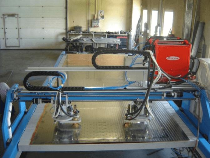 CNC souřadnicový svařovací automat KTV 1 obrázek