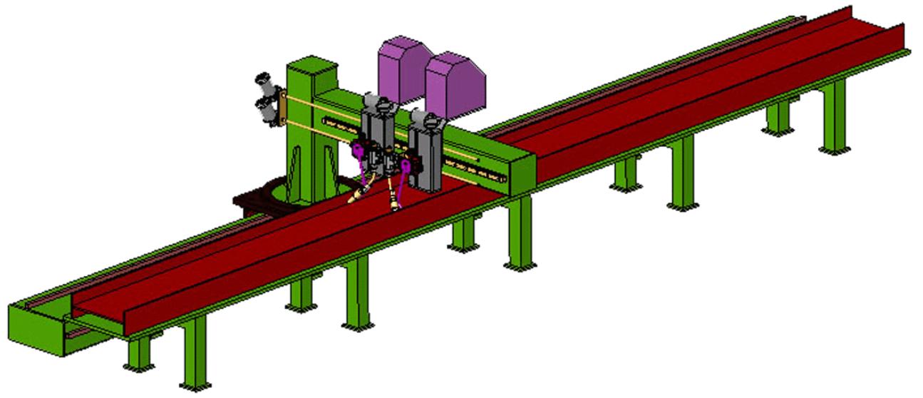 Svařovací konzola KVS-T2 obrázek